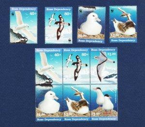 ROSS DEPENDENCY   # L43 - L48A - VFMNH - Birds, WWF - 1997