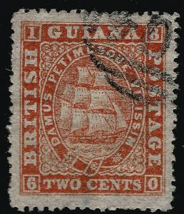 British Guiana #59 SG107 Used VF...Fill in British Colony spaces!