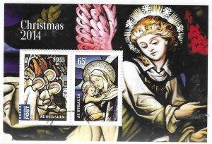 2014   AUSTRALIA  -  SG.  MS 4281  -  CHRISTMAS  -  USED