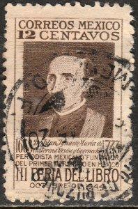 MEXICO 791, 12c Book fair. Used. VF. (770)