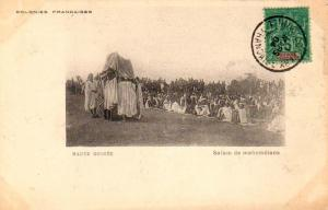 French Guinea 5c Navigation and Commerce 1904 Conakry, Guinee Francaise PPC (...