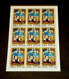 KOREA, 1980, JOHANNES KEPLER, CTO, SHEET/9, NICE! LQQK!