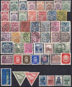 Worldwide  Lot-   Latvia  (Z6116)