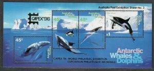 $Australian Antarctic Terr. Sc#L97c M/NH/VF, Cv. $40