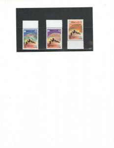 KUWAIT :++REDUCED++Sc. 1543-45 /***NOMADISM FROM HEJAZ  ***/ Complete Set / MNH.