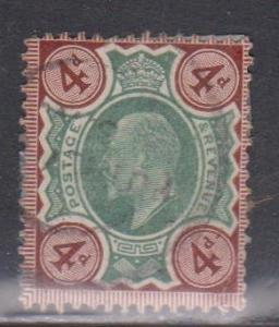 GREAT BRITAIN Scott # 133 Used - KEVII