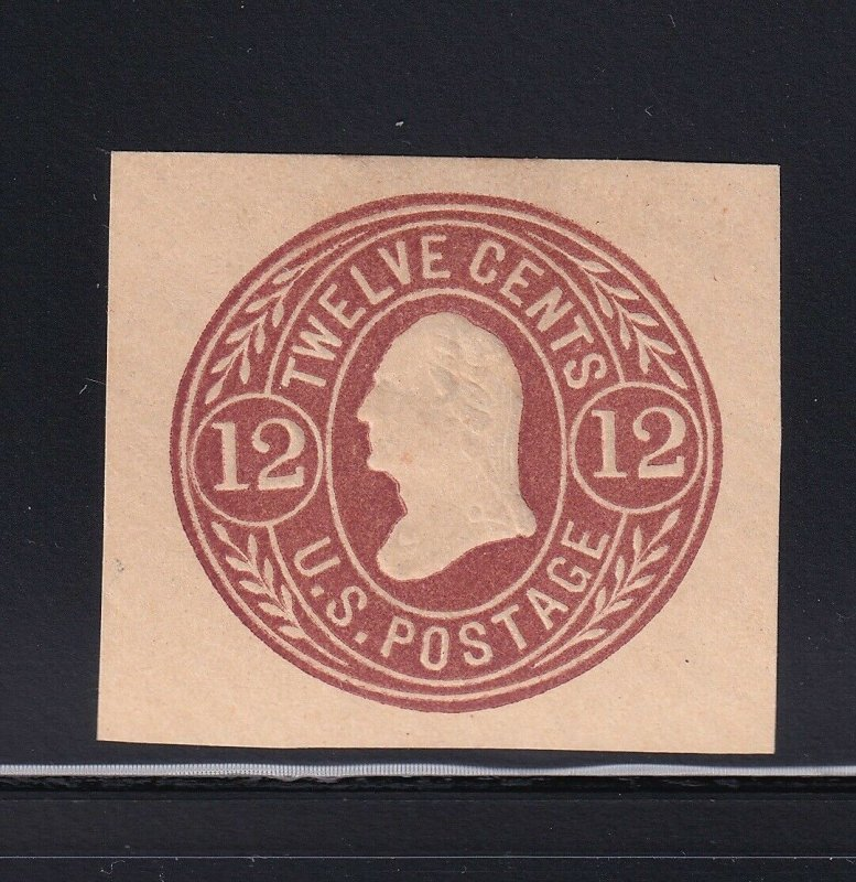 U69 VF unused cut square with nice color scv $ 125 ! see pic !
