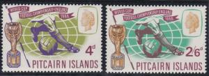 Pitcairn Islands 60-61 MNH (1966)