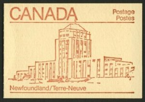 Canada 946b Booklet BK84a Newfoundland Cover MNH Maple Leaf (sealed)