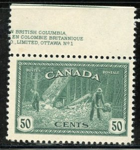Canada # 272, Mint Never Hinge. CV $ 22.50