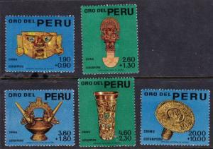 Peru #B1-5 MH Chimu artifacts cpl