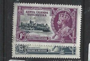 KENYA, UGANDA, TANGANYIKA   (PP0106B)  KGV JUBILEE  SG 126-7  MOG