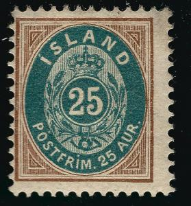 Iceland Attractive Sc#29 Mint Fine SCV$25.00...Worth a Close Look!!