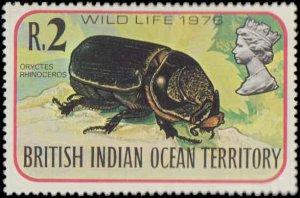 1976 British Indian Ocean Territory #86-89, Complete  Set(4), Never Hinged
