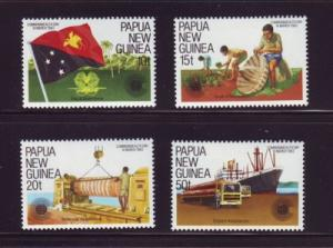 Papua New Guinea Sc580-3 Commonwealth Day stamps mint NH