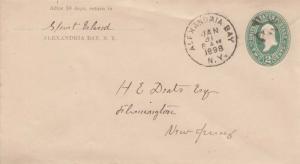 United States New York Alexandria Bay 1898 segmented cork  Postal Stationery ...
