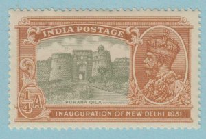 INDIA  129  MINT HINGED OG * NO FAULTS VERY FINE !