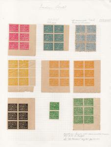 (I.B) India Revenue : Faridkot Duty Stamp Collection