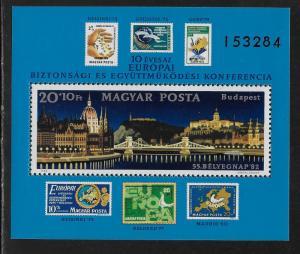 HUNGARY SC# B328   FVF/MNH 1982