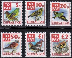 Gibraltar J26-J31 MNH (2002)