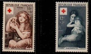France Scott B291-2 Mint NH (Catalog Value $22.00)