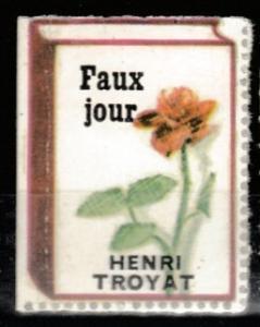 Faux jour Henri TROYAT music vignette MNH **