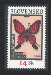 Slovakia Butterfly Moliere Europa CEPT Poster art SG#411