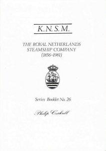 KNSM Royal Netherlands Steamship Company 1856-1981 Ships Cancels Postmarks etc.