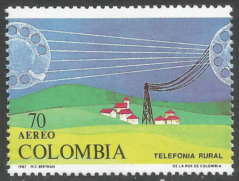 COLOMBIA C790 MNH 15A