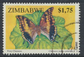Zimbabwe SG 906  SC# 738 Used  Insects    see detail and scan