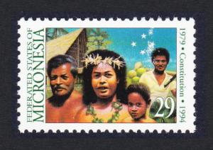 Micronesia 15th Anniversary of Constitution SG#380 SC#194