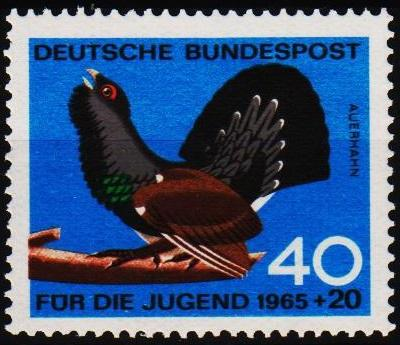 Germany. 1965 40pf+20pf S.G.1387 Unnmounted Mint
