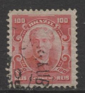Brazil - Scott 177 - People Definitives Issue -1906 - Used - Single 100r Stamp