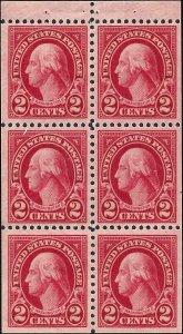 634d Mint,OG,NH... Booklet Pane... SCV $2.50