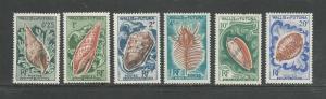 Wallis & Futuna Islands Scott catalogue # 159-164 Unused HR See Desc