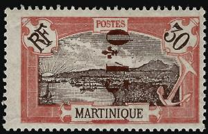 Martinique (Scott #116a) Mint OG F-VF...Buy before prices go up!