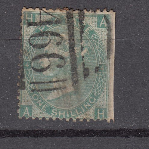 J27438 1865 great britain used #48 queen $225.00 scv