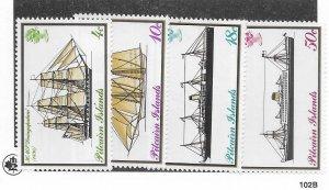 Pitcairn Islands #147-150 MNH - Stamp - CAT VALUE $4.50