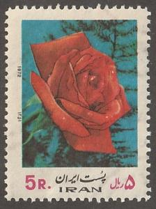 Iran/Persian stamp, Scott# 1646,  mint never  hinged, rose on stamp,  #lc-30