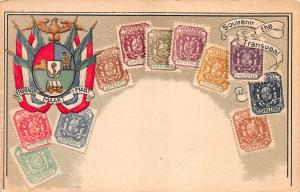 Transvaal, Stamp Postcard, Published by Ottmar Zieher, Circa 1905-10, Unused