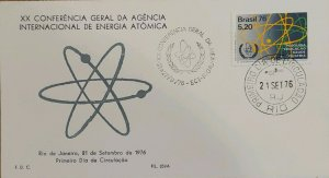 A) 1976, BRASZIL, ATOM, XX GENERAL CONFERENCE OF THE INTERNATIONAL ATOMIC ENERGY