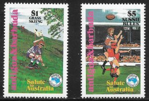 Antigua & Barbuda  (1984)  - Scott # 779  -780,   MNH