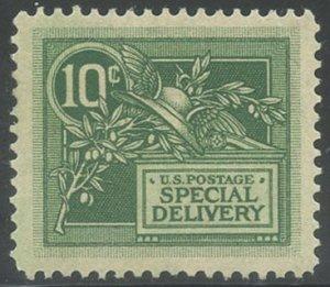 US Scott #E7 Mint, XF, Hinged