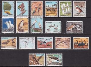 Botswana, Fauna, Birds MNH / 1982