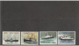 FAROE ISLANDS 352-355 MNH 2019 SCOTT CATALOGUE VALUE $8.40