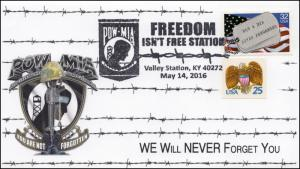 2016, POW-MIA, Freedom, Valley Station KY, Pictorial, 16-272