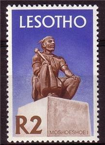 LESOTHO 1971 Statue King Moshoeshoe MNH Michel 104x #1133