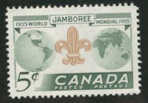 CANADA Scott 356 MNH** 1955 Scout Jamboree stamp