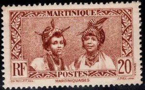 Martinique Scott 140  MH* from 1935-1940 set