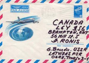 Russia, Postal Stationery, Aviation, Airmail